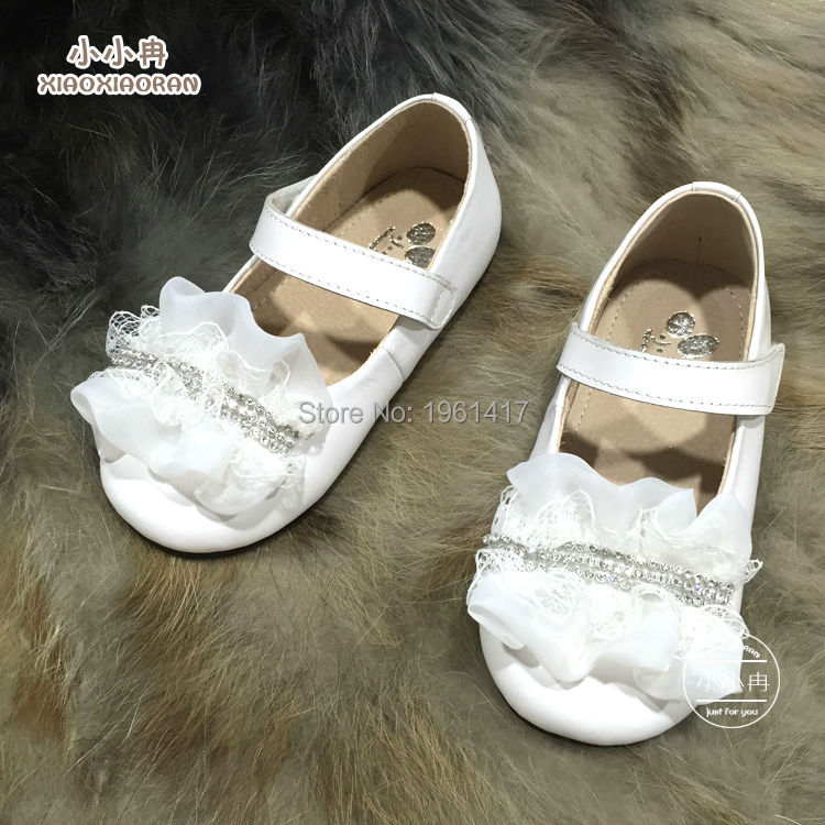 2016 Best Selling Girls Dress Shoes Handmade Beautiful Genuine Leather Princess Factory Price Direct - My store