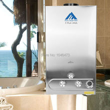 (Ship from US) 12 Liter LPG Propane Bottle Gas Boiler Household Hot Water Heater Shower With LCD Display Tankless (China (Mainland))