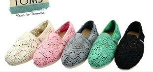 Global classic selling crochet shoes canvas shoes women's casual shoes Ladies canvas shoes(China (Mainland))