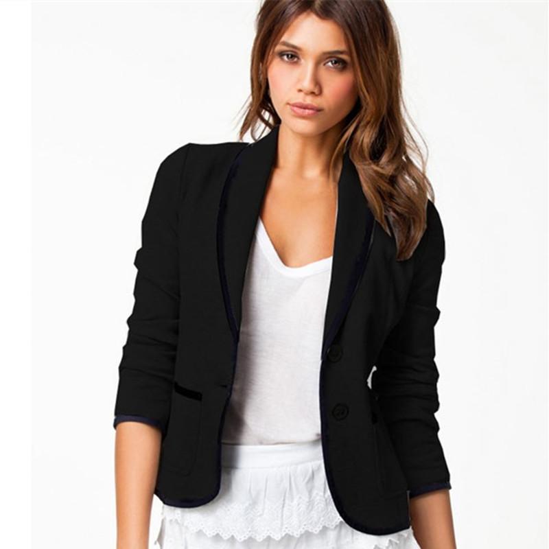 Short Black Jacket Womens
