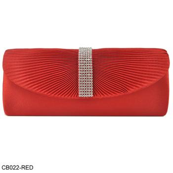 New Design! Wholesale And Retail Elegant Diamante Velour Pleated Design Party Bag Evening Bags 8Color/CB022