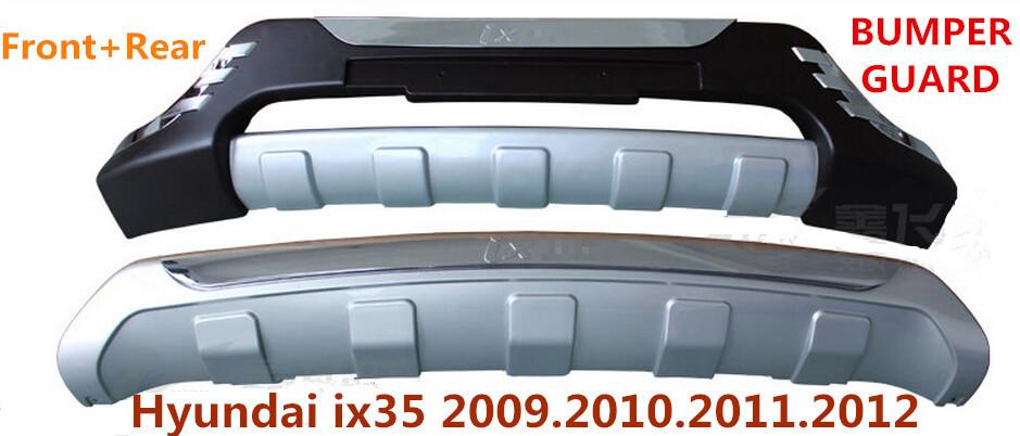 IX35 BUMPER GUARD ( Front+Rear ) ISO9001 High Quality Luxury models Auto BUMPER Plate FOR Hyundai ix35 2009.2010.2011.2012(China (Mainland))