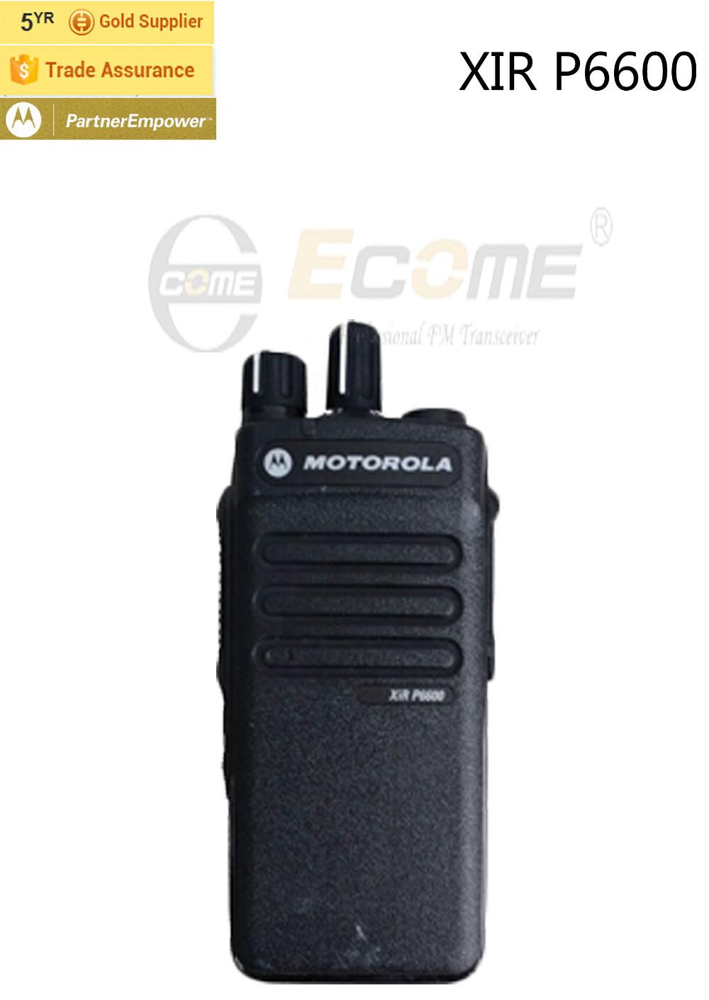 Motorola XIR P6600 Portable UHF VHF Two Way Radio(China (Mainland))