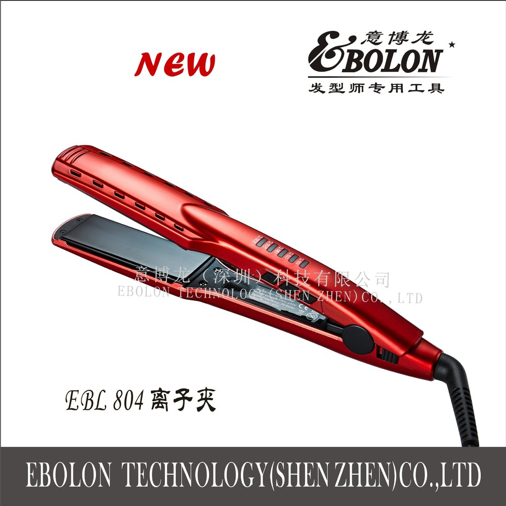 2015 new boutique ion clip EBL804 high of 230 nano ceramic glaze does not damage the hair straightener<br><br>Aliexpress
