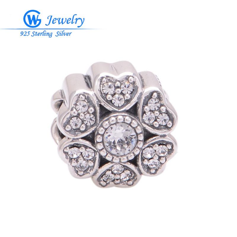 charms de prata 925 birthstones beads diy Fits bracelet pendants heart charm pendant GW Fine Jewelry X318(China (Mainland))