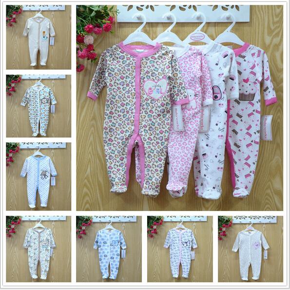 Macacão de bebê 2015 recém-nascido Carters & trabalhadores do bebê meninas traje do bebê meninos Jumpsuit roupas primavera outono Romper do corpo roupas de bebê(China (Mainland))