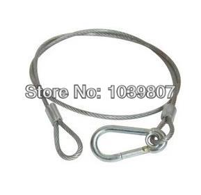 Free shipping Stage safety cable DJ lighting system hanging chain security cable , 100MM stage accessories product safety rope(China (Mainland))
