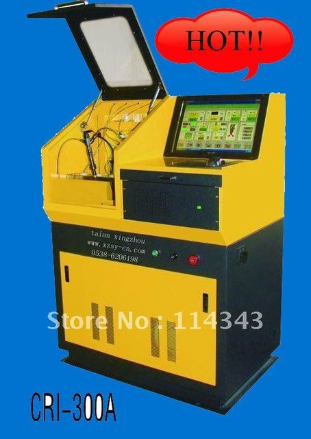 auto electronic common rail injector test bench CRI-300A with bosch components, frequency changing,ce certificate