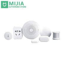 Buy Xiaomi Smart Home Mijia 6 1 Kit Gateway Door Window Sensor Human Body Sensor Wireless Switch Multifunctional Smart Devices for $108.39 in AliExpress store