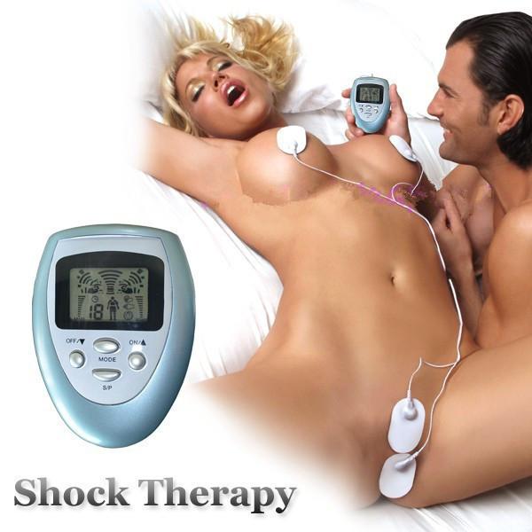Гаджет  New Shock Therapy Adult Sex Toy for Woman Electro Kit E-Stimulation Sex Machine Nipples Clitoris Sex Products Vibrator PY125 None Красота и здоровье
