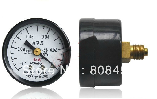 Vacuum Gauge Air Pressure Gauge Universal Gauge -0.1-0Mpa,Dial diameter: 40mm(China (Mainland))