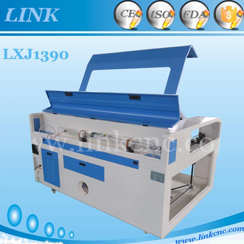 Top selling 2d laser machine 1390 LINK price golden laser machine lxj1390-80w(China (Mainland))