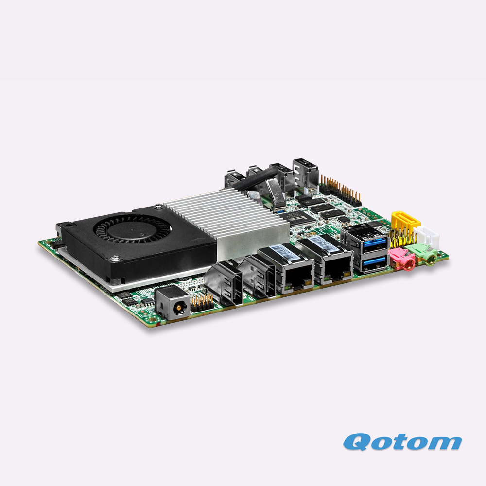 2016 New products Celeron 3215U Dual RJ45 Nano itx motherboard Support linux ubuntu 12V(China (Mainland))