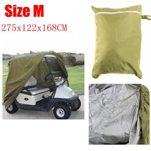 Durable 4 Passenger People Golf Cart Cover For GO Club Car Cover Protect Against Rain Sun(China (Mainland))