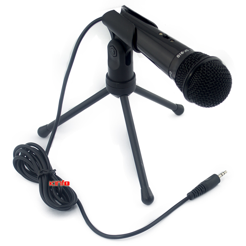 Гаджет  New Skype MSN Singing Recording  3.5mm Stereo Computer Condenser Microphone  for PC Laptop Vocal Voip Acoustic CM01H-H25 None Бытовая электроника