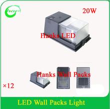 Matasse 20 w impermeabile applique da parete led per garage corridoio di passaggio apparecchio di illuminazione 12 pz/lotto(China (Mainland))