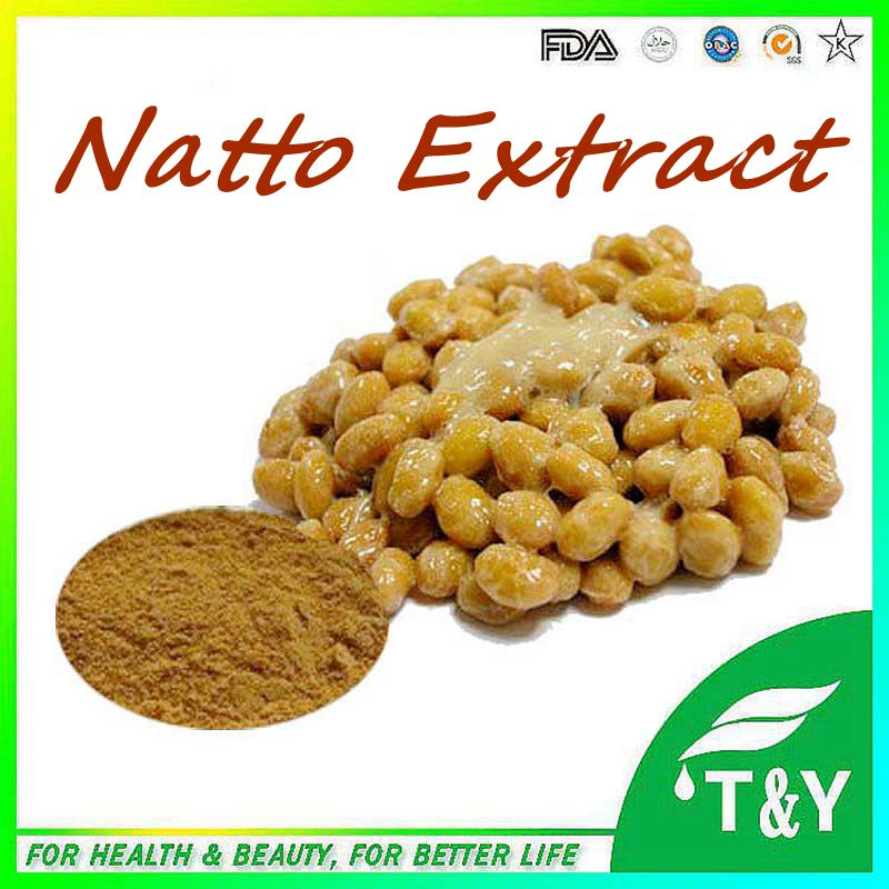 Hot Selling 100% Natural Natto Extract Powder Nattokinase For Capsule/Natto Seed Extract/Natto Extract 700G 10:1