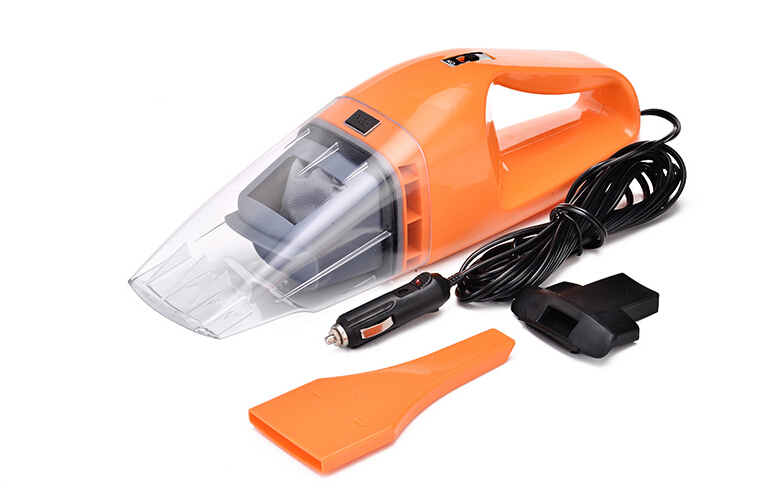 Car vacuum cleaner wet and dry dual-use super suction 5 meters cable 12v 120W tile car vacuum cleaner free shipping(China (Mainland))