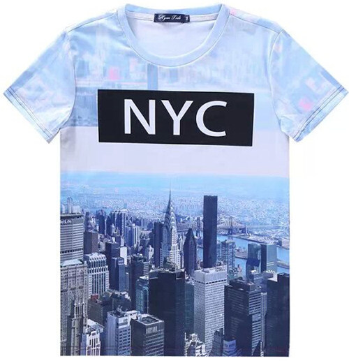 Elmo womens fashion 2015 nyc new york city printed cool for New york printed t shirts