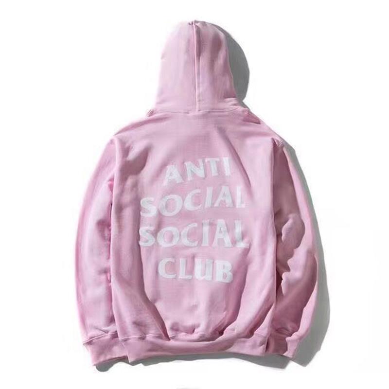 ANTI SOCIAL SOCIAL CLUB Hoodies Men Women 1:1 High Quality Hoodie Sweatshirt ASSC Pullover ANTI SOCIAL SOCIAL CLUB Hoodies(China (Mainland))