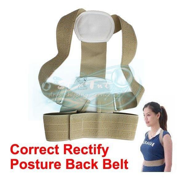 Wholesale Flexible Posture Shoulder Support Belt Correct Rectify Posture Beauty Back Belt