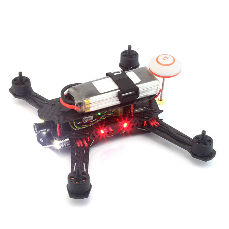New MINI H250 OCDAY-250PRO Axis Carbon Fiber Chassis Rack Quadcopter Frame K5BO<br><br>Aliexpress