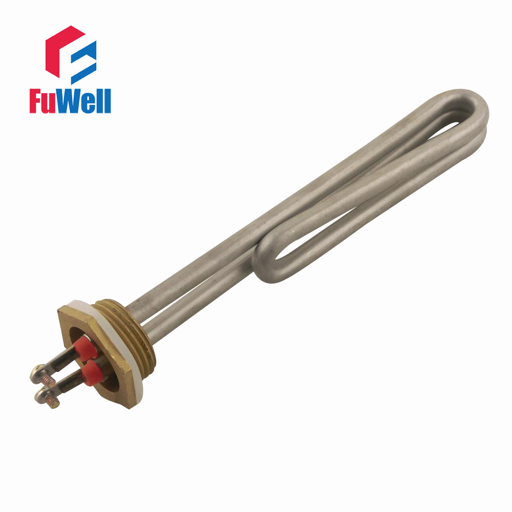1 Inch Stainless Steel Copper Head Heating Tube 220v 1kw