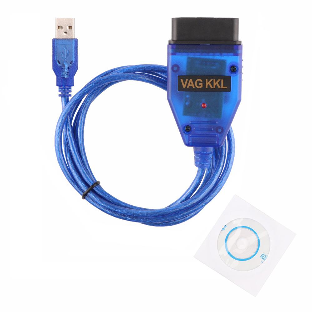 VAG-COM 409.1 Vag Com 409.1 KKL OBD2 USB Cable Scanner Scan Tool Interface For Audi VW SEAT Volkswagen BMW Honda Nissan(China (Mainland))
