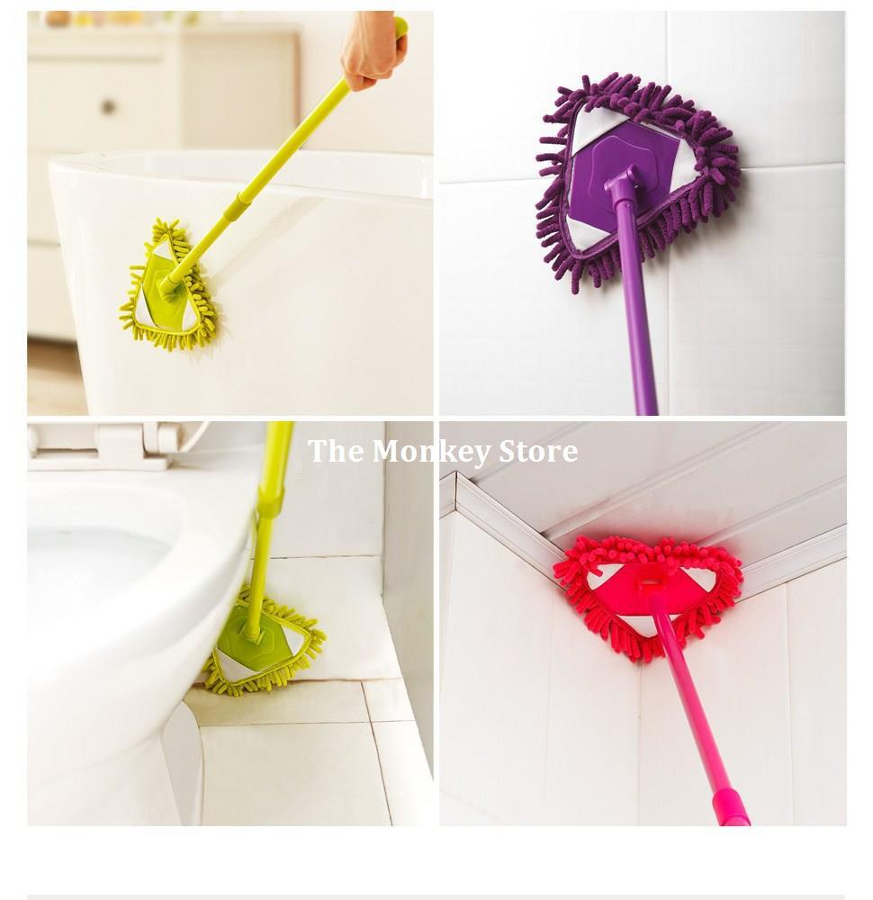 Multifunction Scalable Lazy People Dust Floor Cleaning Mop Car Cleaner Duster Kitchen F1436(China (Mainland))