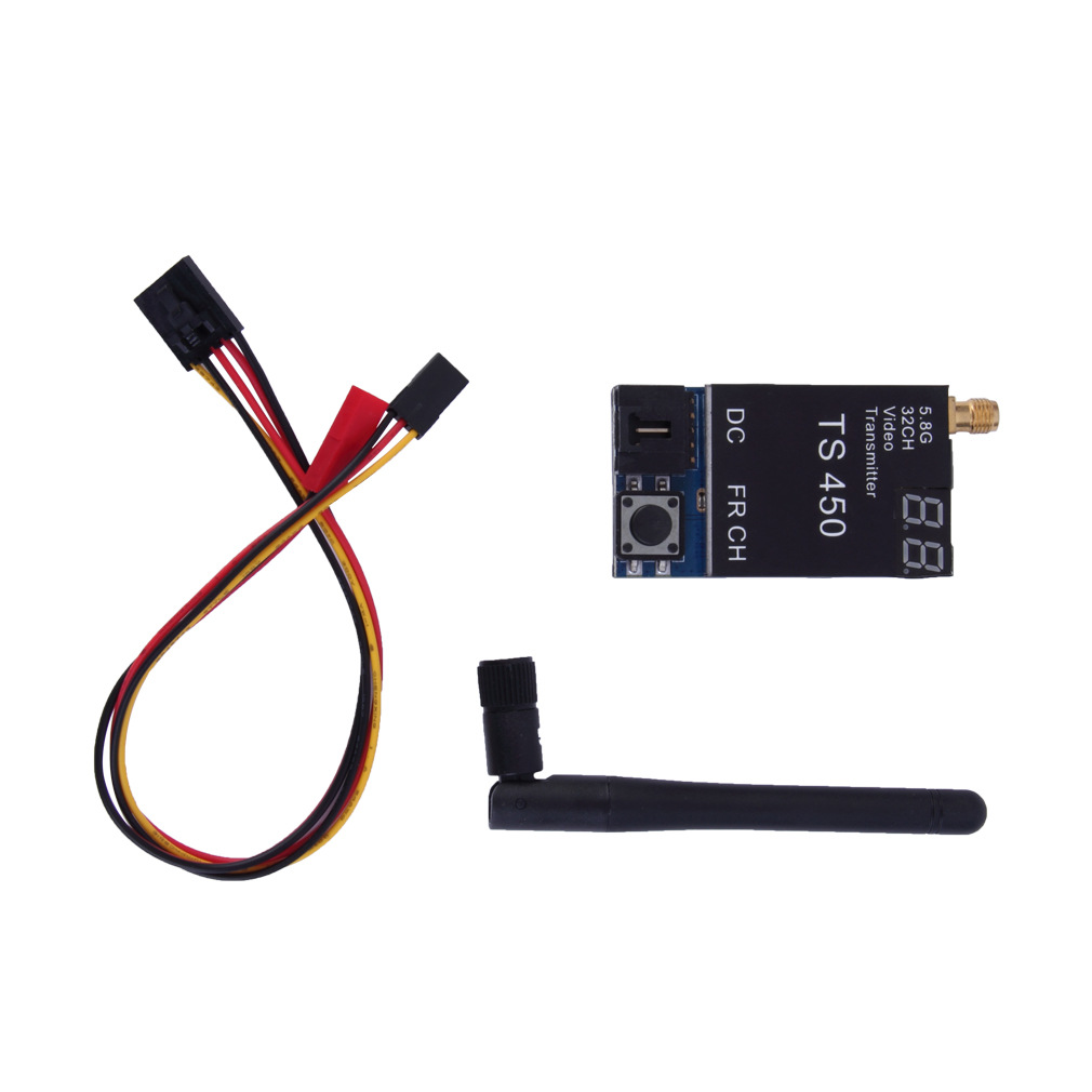 Free Shipping TS450 5.8G 450mW 32 Channels Wireless HD FM Video Transmitter Module for FPV 66(China (Mainland))