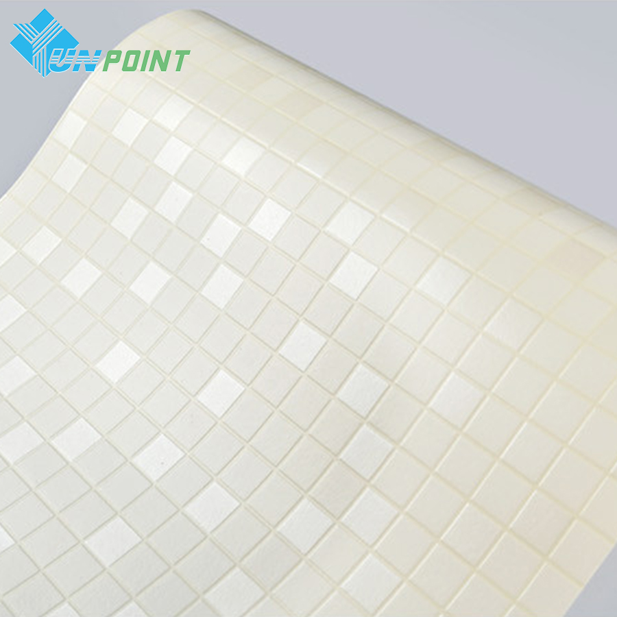 online get cheap paper mosaic tiles com alibaba group 5m korea imported pvc wall paper white mosaic tiles wall sticker diy decorative film for bathroom