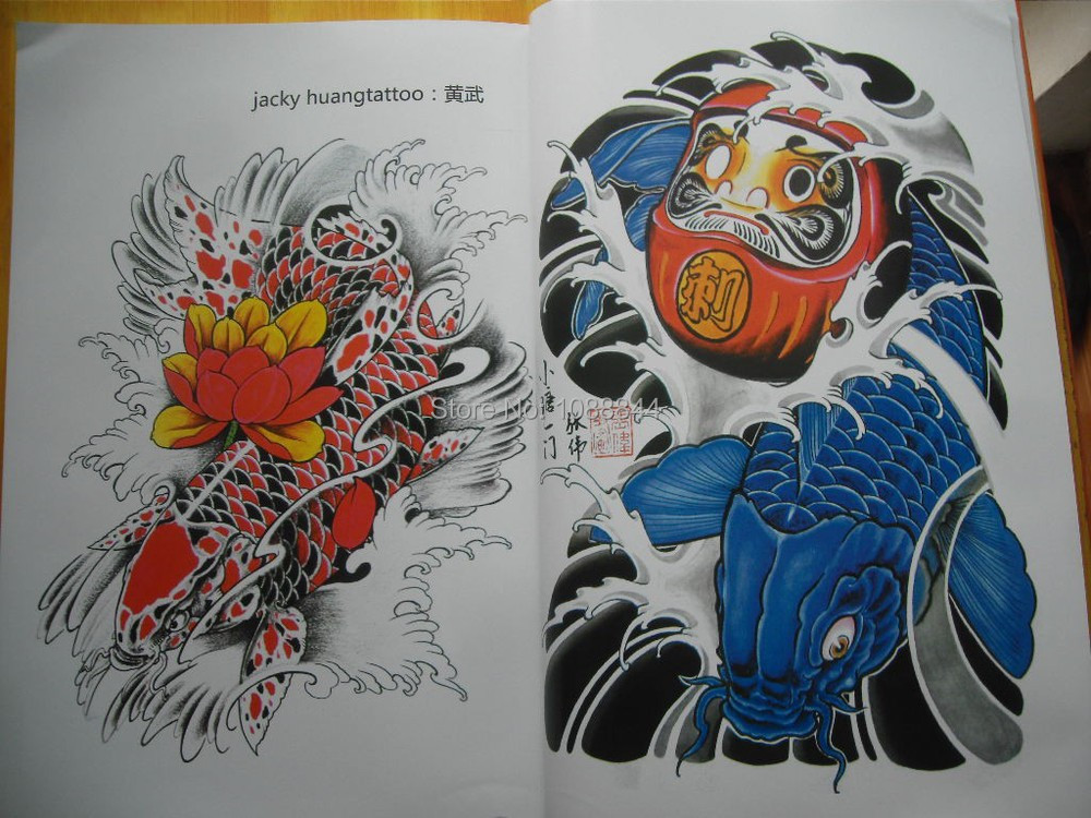 Wholesale wholesale china koi fish flower a4 sketch for Cheap koi fish