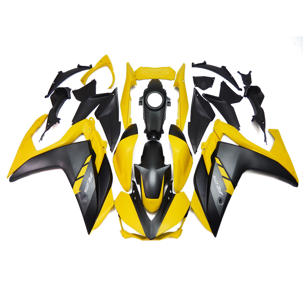 Injection Fairings For Yamaha R3 R25 2015 2016 ABS Plastic Complete Motorcycle Fairings Kit Cowlings Yellow Black Body Frames(China (Mainland))
