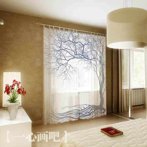 black and white bedroom finished window curtains custom made luxury
