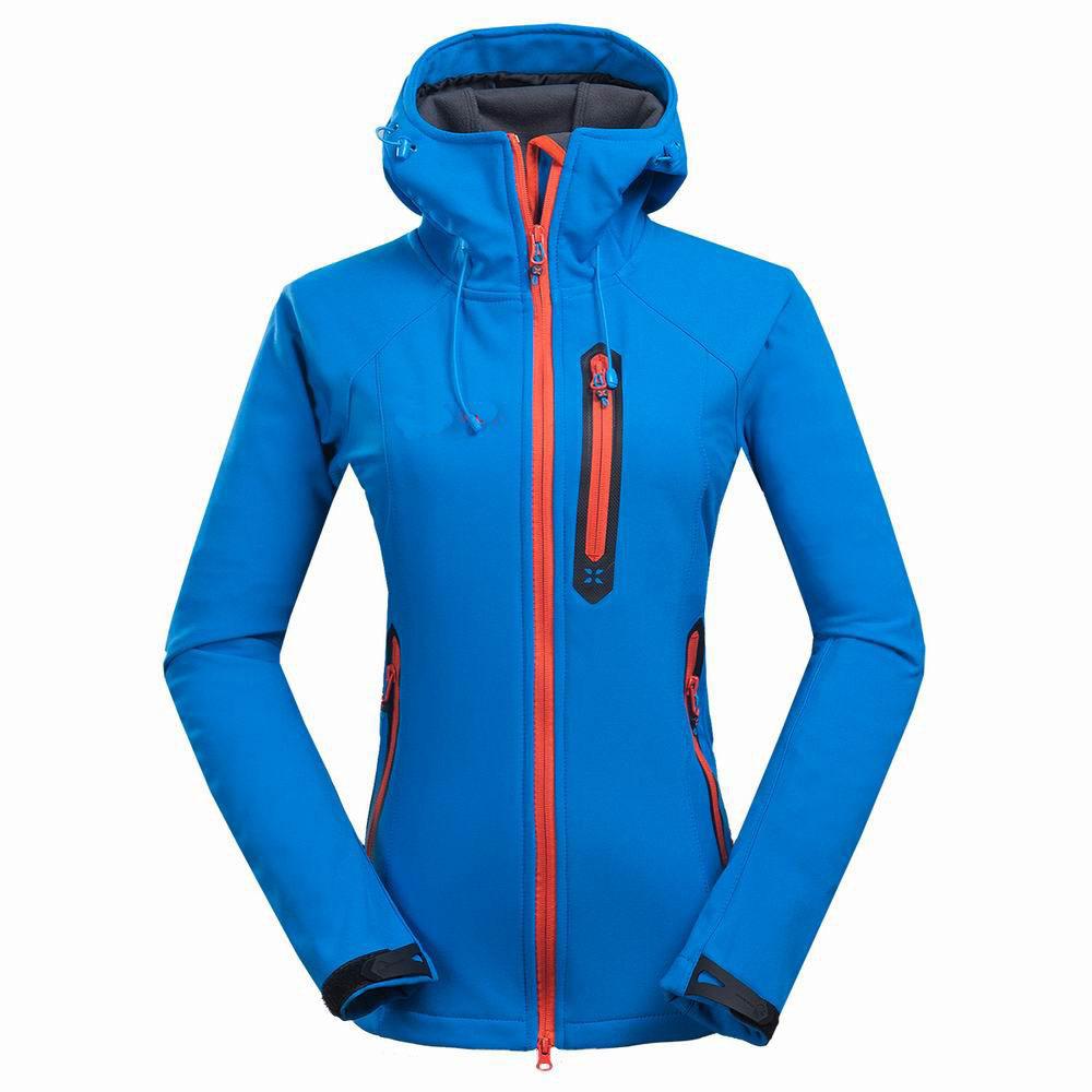 2015 Windstopper Brand Softshell Jacket Women Hiking Jacket Waterproof Windproof Thermal Jacket For Outdoors Hiking Camping Ski<br><br>Aliexpress