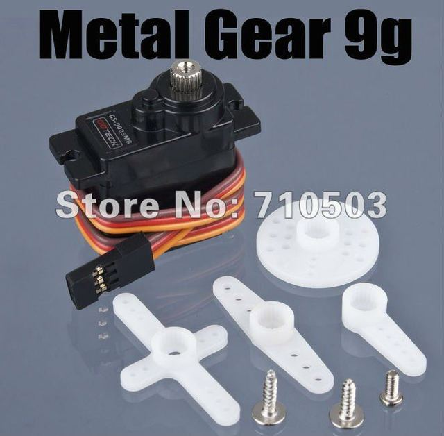 free shipping   Analog Metal Gear 9g Servo GS-9025MG Top Ball Bearing  For trex 450  Rc Helicopter with retail box
