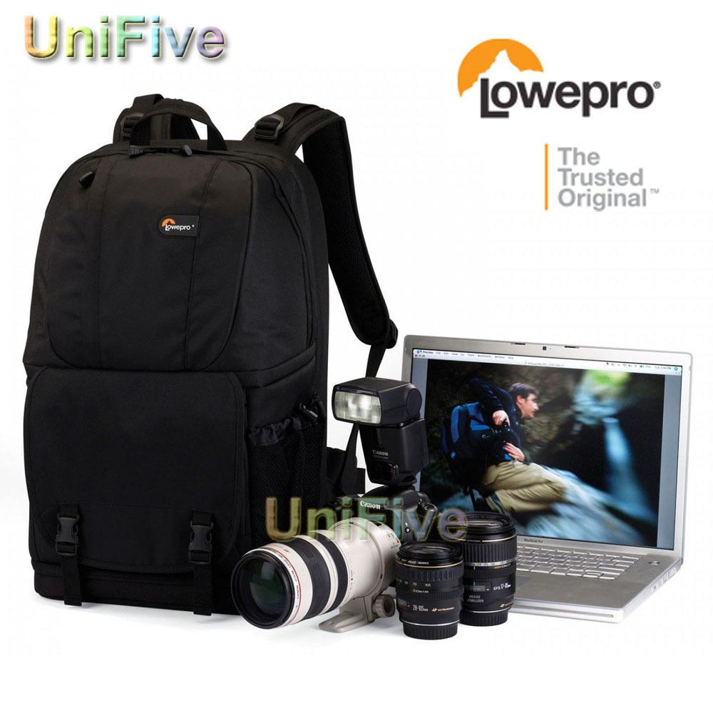 Genuine Waterproof Black Lowepro Fastpack 350 DSLR Camera Photo 17 Laptop Bag Backpack Rucksack for Canon Nikon Sony Panasonic<br><br>Aliexpress