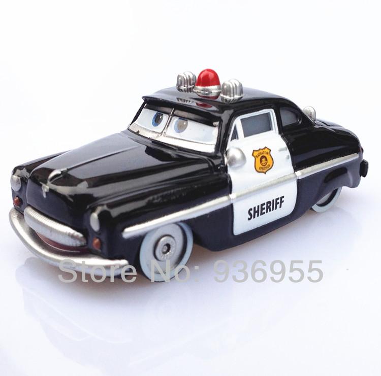 Гаджет  original Pixar cars 2 Toys Diecast 1:55 scale sheriff Free Shipping  Kids TOY None Игрушки и Хобби