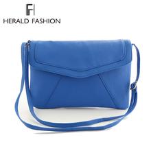 Moda frizione della busta di colore della caramella messenger bag per le donne femmina femminile frizione giorno sacchetto di spalla stile semplice borsa delle donne(China (Mainland))