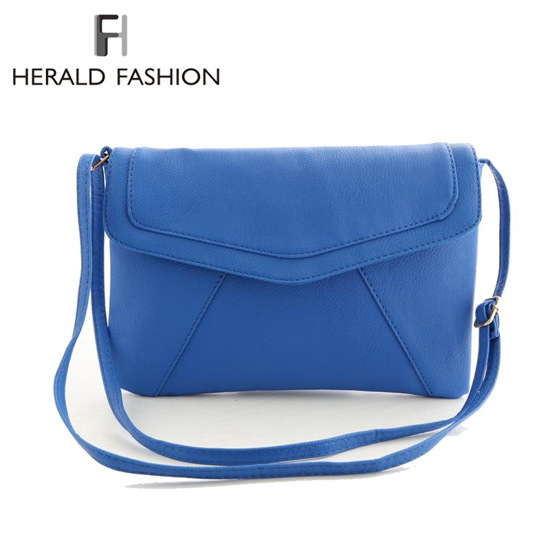 Fashion Envelope Clutch Candy Color Messenger Bag For Women Female Feminine Shoulder Bag Day Clutch Simple Style Women Handbag(China (Mainland))