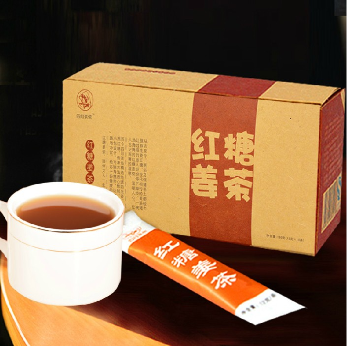 Гаджет  Brown sugar brown sugar ginger tea warm stomach cold ginger instant tea house None Еда