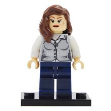 Super Heroes Superman Girlfriend Minifigures Single Sale Building Blocks Sets Bricks Figure Toys For Children