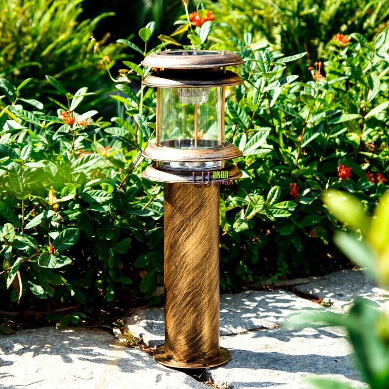 Фотография Outdoor garden lights can Lawn Light Garden Villa waterproof D light control lamp lawn lamppost