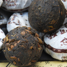 Cassiae Flavors Puer Tea Mini Cake Chinese Ripe Cooked Pu Er Yunnan Pu Er Slimming Puerh