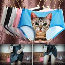 Buy 2016 Summer New Sexy Seamless 3D underwear women briefs Cats Print women panties female underwear Panty Sexy Panties for $1.50 in AliExpress store