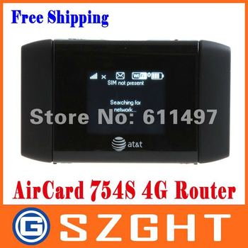 AT&T Sierra Wireless Mobile Hotspot WiFi Elevate 4G MiFi Router Aircard 754S Free Shipping+Drop Shipping