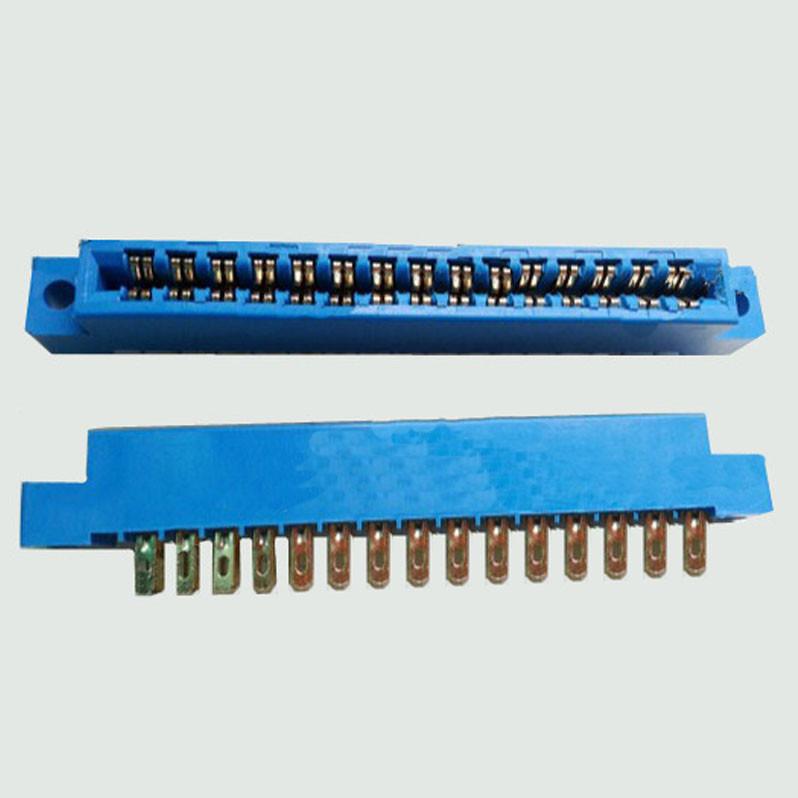 5pcs/Lot 805 Card Edge Connector 3.96mm Pitch 2x15Row 30 Pin PCB Slot Solder Socket SP30 Dip Soldering-Block Type(China (Mainland))