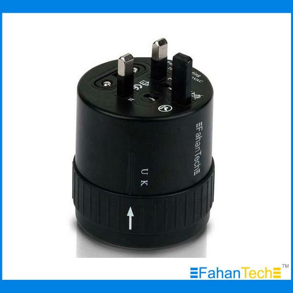 FahanTech Global Plug Adapter Universal --- UK, EU, AU, NA (North America)