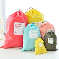 Waterproof 4pcs/set Traveling Packing Cubes Clothes Organizer Storage Bag In Bag