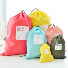 Waterproof 4pcs/set Traveling Packing Cubes Clothes Organizer Storage Bag In Bag (China (Mainland))